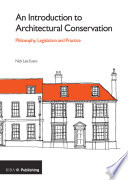 An Introduction to Architectural Conservation