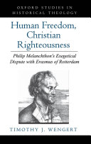 Human Freedom, Christian Righteousness ebook