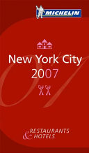 Michelin Red Guide 2007 New York City