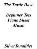 Turtle Dove Beginner Tots Piano Sheet Music Pdf Book