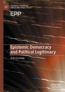 Pdf Epistemic Democracy and Political Legitimacy Telecharger