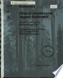 Summary  final environmental impact statement