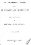 The Congressional Globe Book