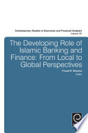 The Developing Role of Islamic Banking and Finance