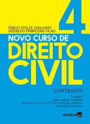Novo Curso de Direito Civil Vol 4 - Contratos - 3ª Ed. 2020