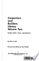 Builders Math, Plans, Specifications