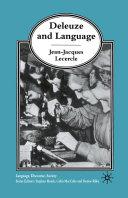 Deleuze and Language