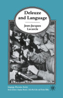 Pdf Deleuze and Language Telecharger