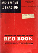 Implement   Tractor Red Book Book