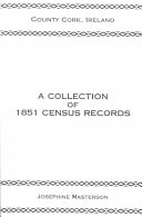 County Cork  Ireland  a Collection of 1851 Census Records