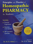 Principles   Practice of Homeopathy Pharmacy Book