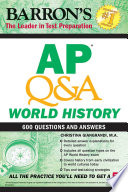 AP Q A World History Book
