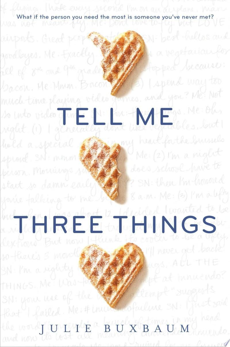 Tell Me Three Things image