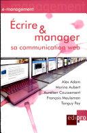 Écrire et manager sa communication Web