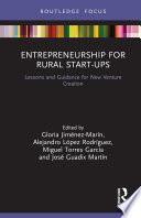 Entrepreneurship for Rural Start ups Book
