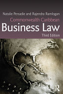 Commonwealth Caribbean Business Law