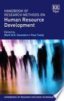 Handbook of Research Methods on Human Resource Development