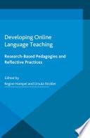 Developing Online Language Teaching