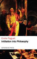 Pdf Initiation into Philosophy