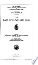 The Port of Cleveland  Ohio Book