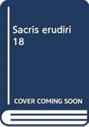 Sacris Erudiri 18