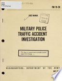 Military Police Traffic Accident Investigation