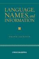 Pdf Language, Names, and Information