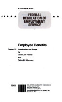 Federal Regulation of Employment Service  Wage and hour laws enforcement  Compensation on Federal projects  Employee benefits  v  5A  Employee benefits