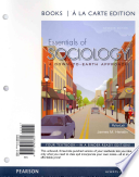 Essentials of Sociology, Books a la Carte Plus New Mysoclab with Pearson Etext -- Access Card Package