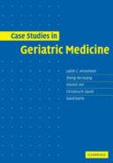 Case Studies in Geriatric Medicine