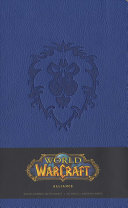 World of Warcraft Alliance Hardcover Ruled Journal  Large  Book