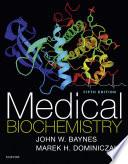 Medical Biochemistry E Book Book PDF