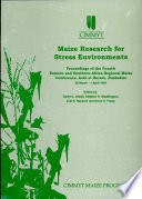 Maize Research For Stress Environments Book PDF