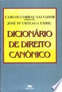 Dicionário de Direito Canônico