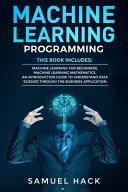 Machine Learning Programming Book