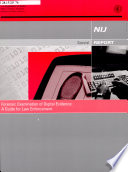 NIJ Special Report  Forensic Examination of Digital Evidence  A Guide for Law Enforcement  April 2004