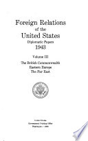Foreign Relations of the United States Book PDF