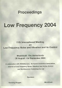 Proceedings, Low Frequency 2004