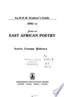 Notes on East African Poetry