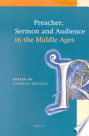 Preacher, Sermon and Audience in the Middle Ages