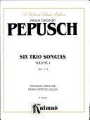 Pdf Six Trio Sonatas Telecharger