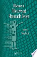 Advances in Affective and Pleasurable Design