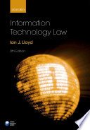 Information Technology Law Book