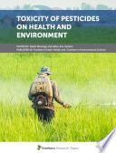 Toxicity of Pesticides on Health and Environment Book
