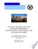 Follow-up Audit of the Drug Enforcement Administration's Handling of Cash Seizures
