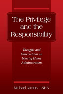The Privilege and the Responsibility