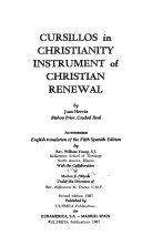 Cursillos In Christianity Instrument Of Christian Renewal