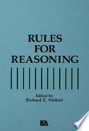Rules For Reasoning Book PDF