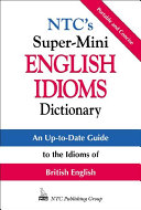 NTC's Super-Mini English Idioms Dictionary [Pdf/ePub] eBook
