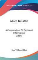 Much in Little